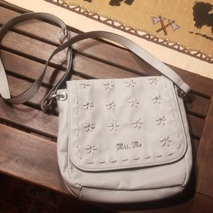 NWOT Miss Me  silver crossbody
